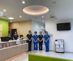 静岡静脈瘤クリニック 院内 集合写真 2020年6月2日 佐野先生 院内・職場・ナース受付 下肢静脈瘤クリニック
